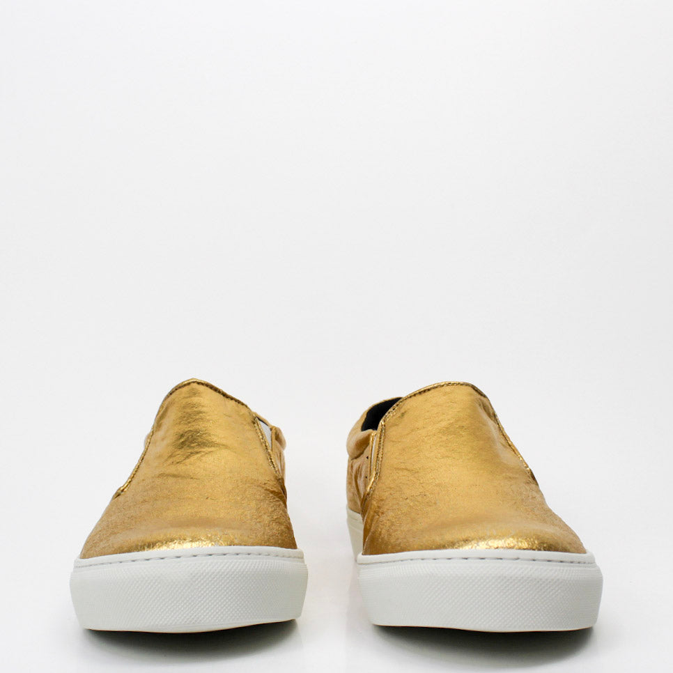 Bare Piñatex Shoes Gold