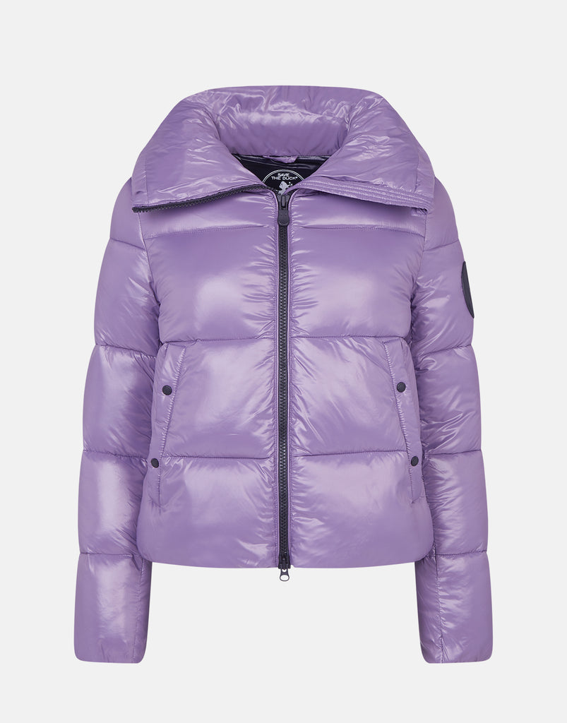 LUCK Puffer Jacket Grape Violet