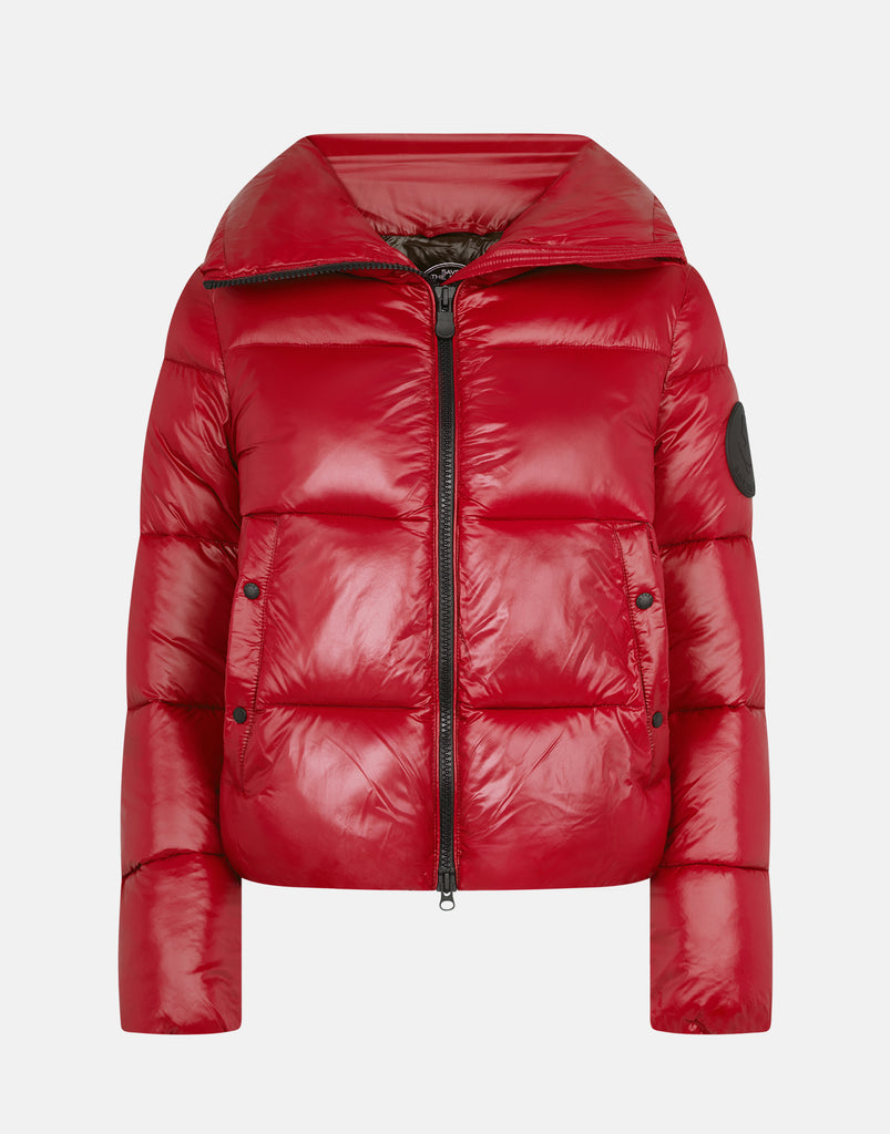LUCK Puffer Jacket Ruby Red