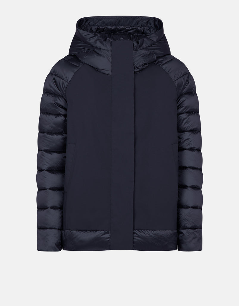 IRMA Hooded Coat Black