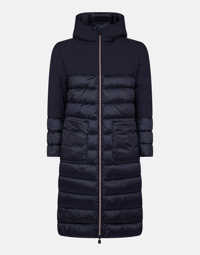 IRMA Long Hooded Coat Black