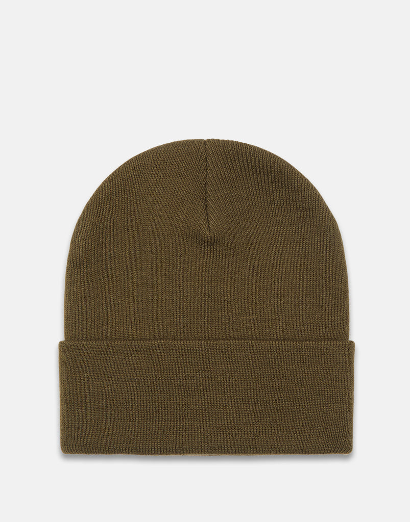 Smooth Knit Beanie Dusty Olive