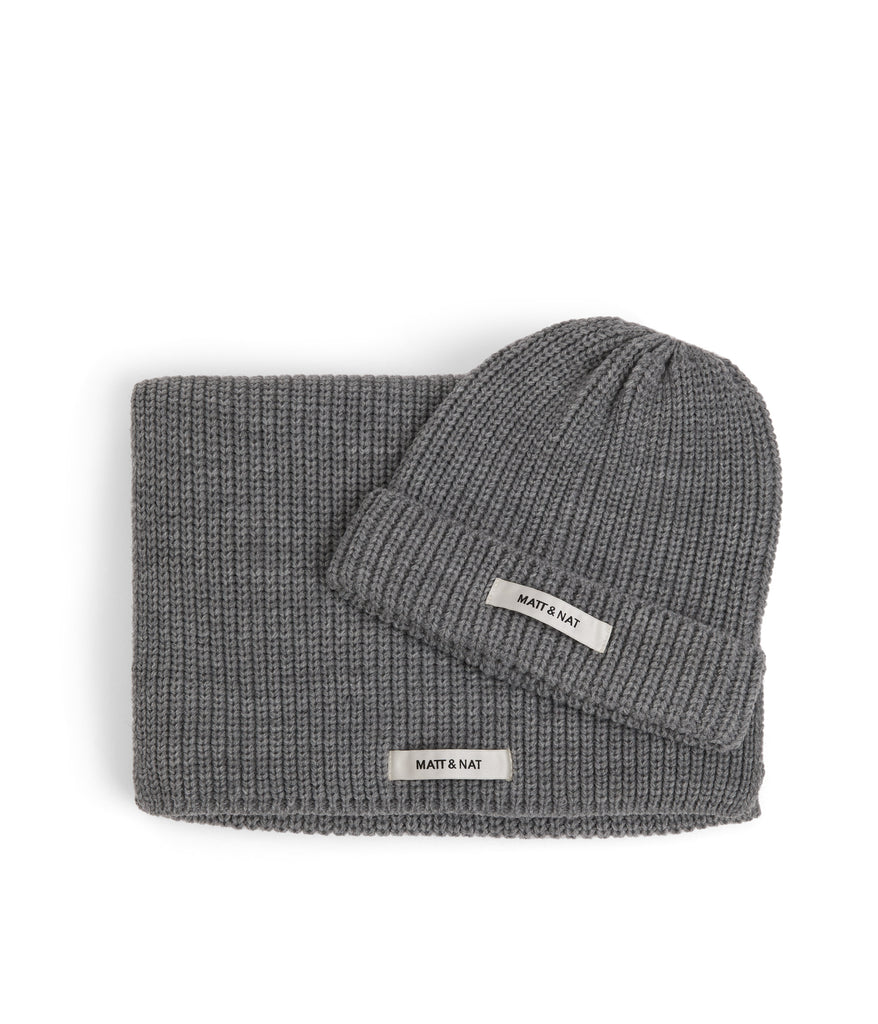 Wynn Hat & Scarf Set Grey