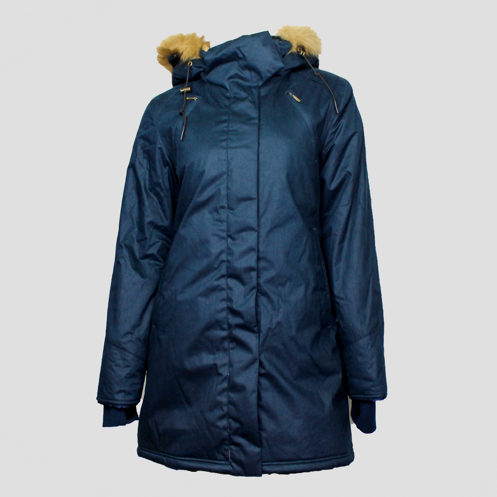 Ladies' W19 Nordic Parka Midnight Blue