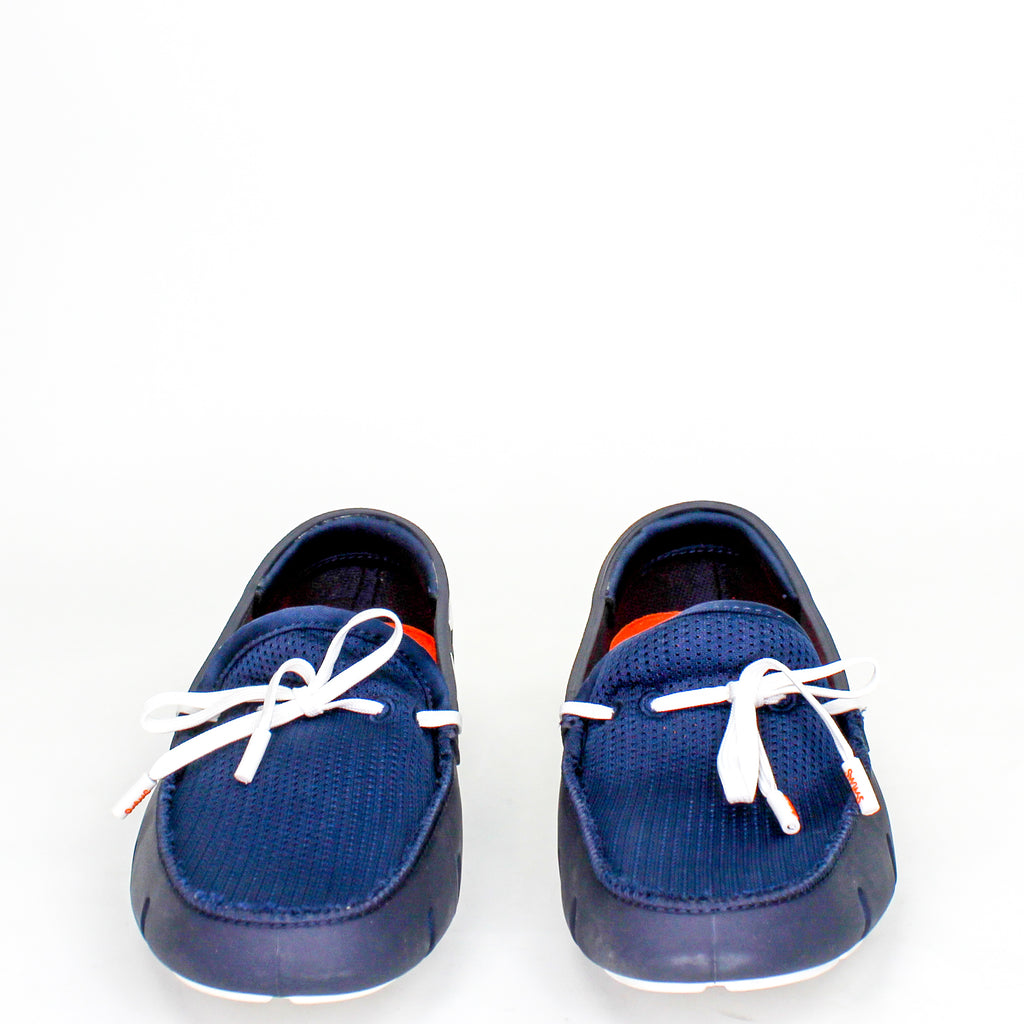 Lace Loafers Navy