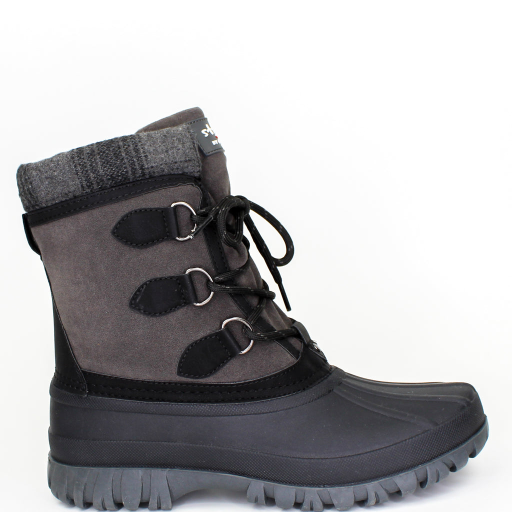 Cleo Winter Boots Dark Grey