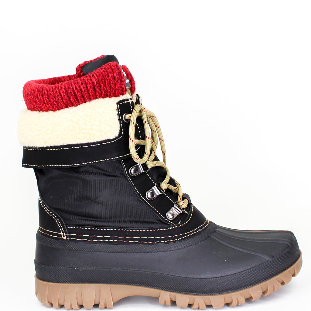 Creek Winter Boots Black