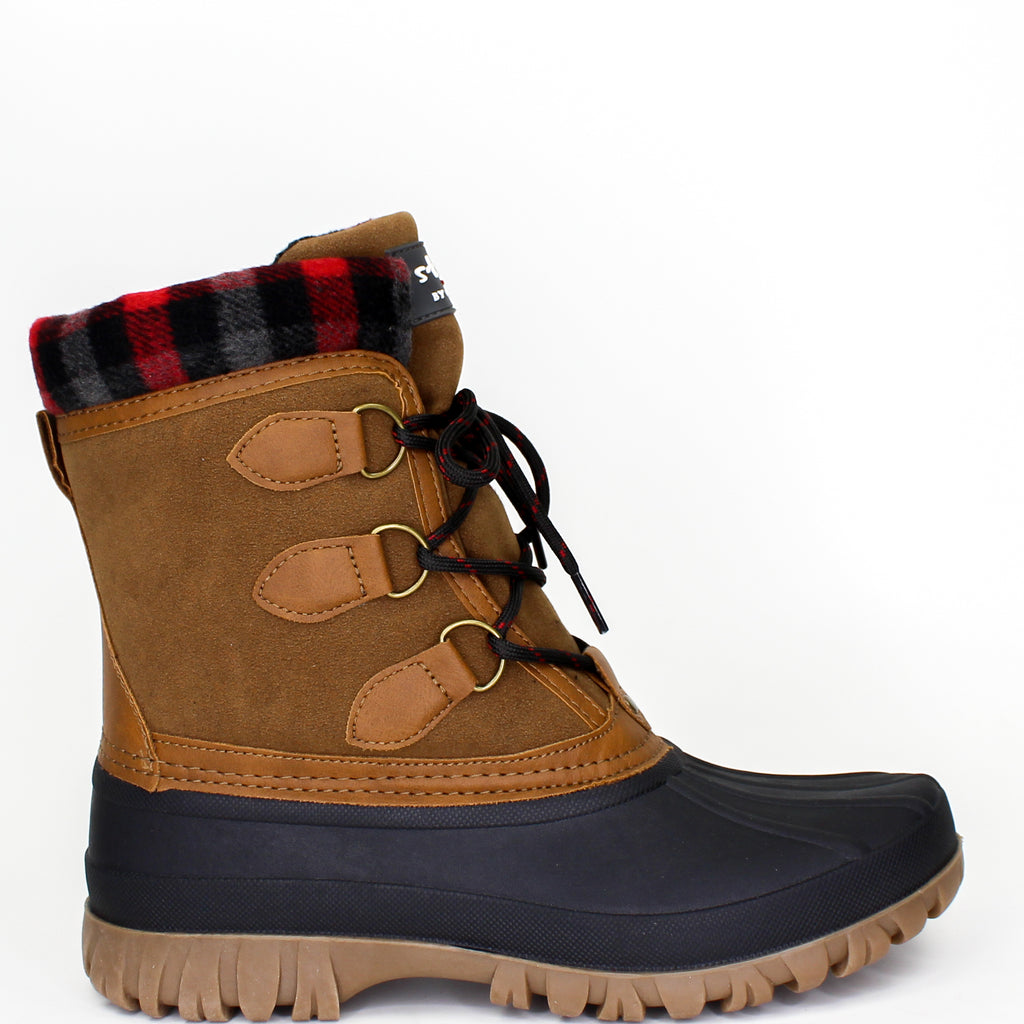 Cleo Winter Boots Chestnut