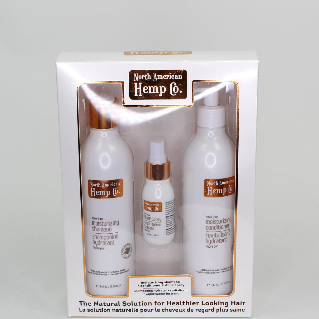 Moisturizing Hair Care Gift Set