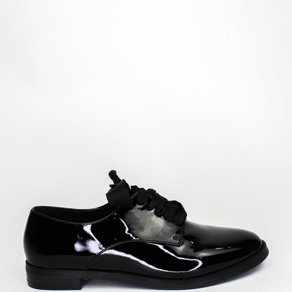 Emerson Patent Loafers Black