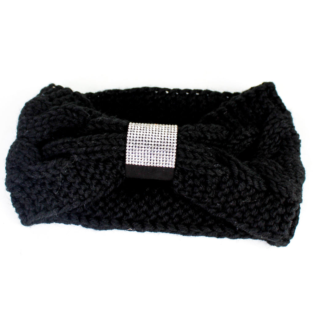 Knit Headband Black