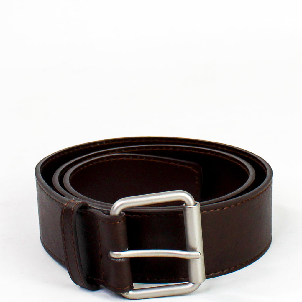 Jeans Belt Dark Brown