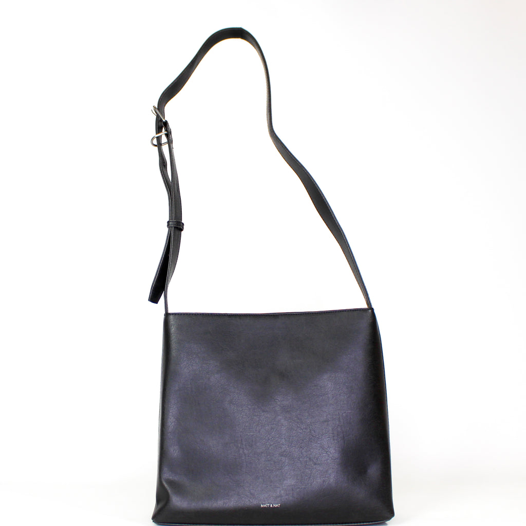 Minty Messenger Bag Black