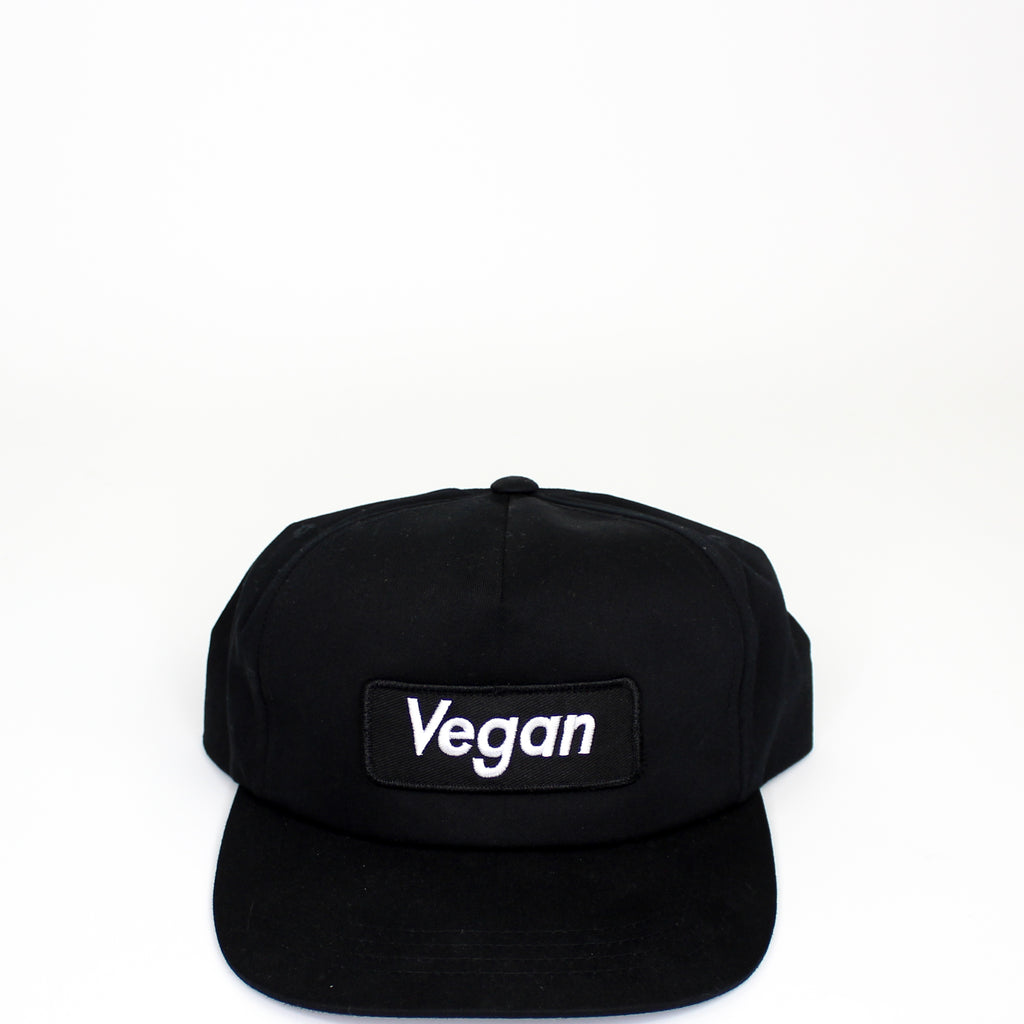 Supreme Vegan Snapback Black