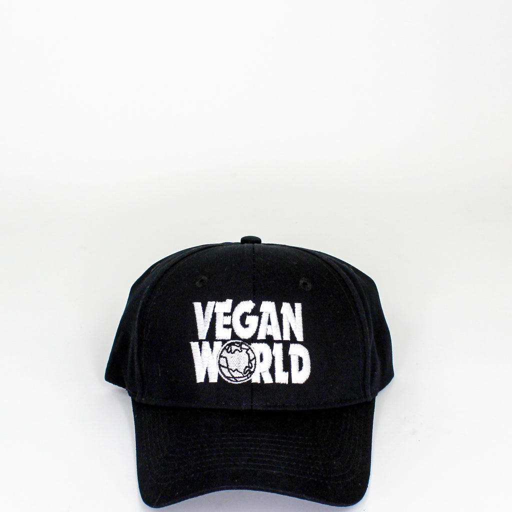 Vegan World Dad Cap Black