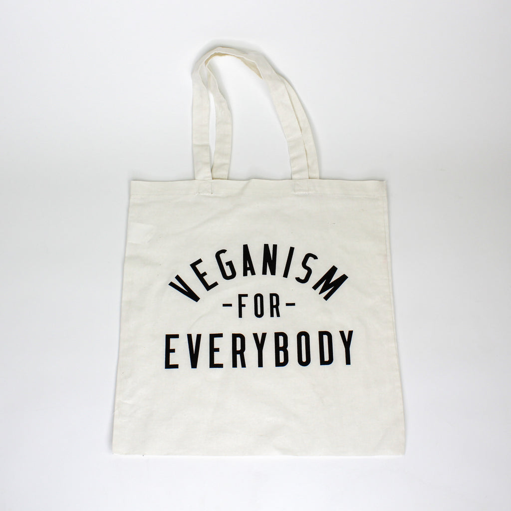 Veganism For Everybody Tote Bag