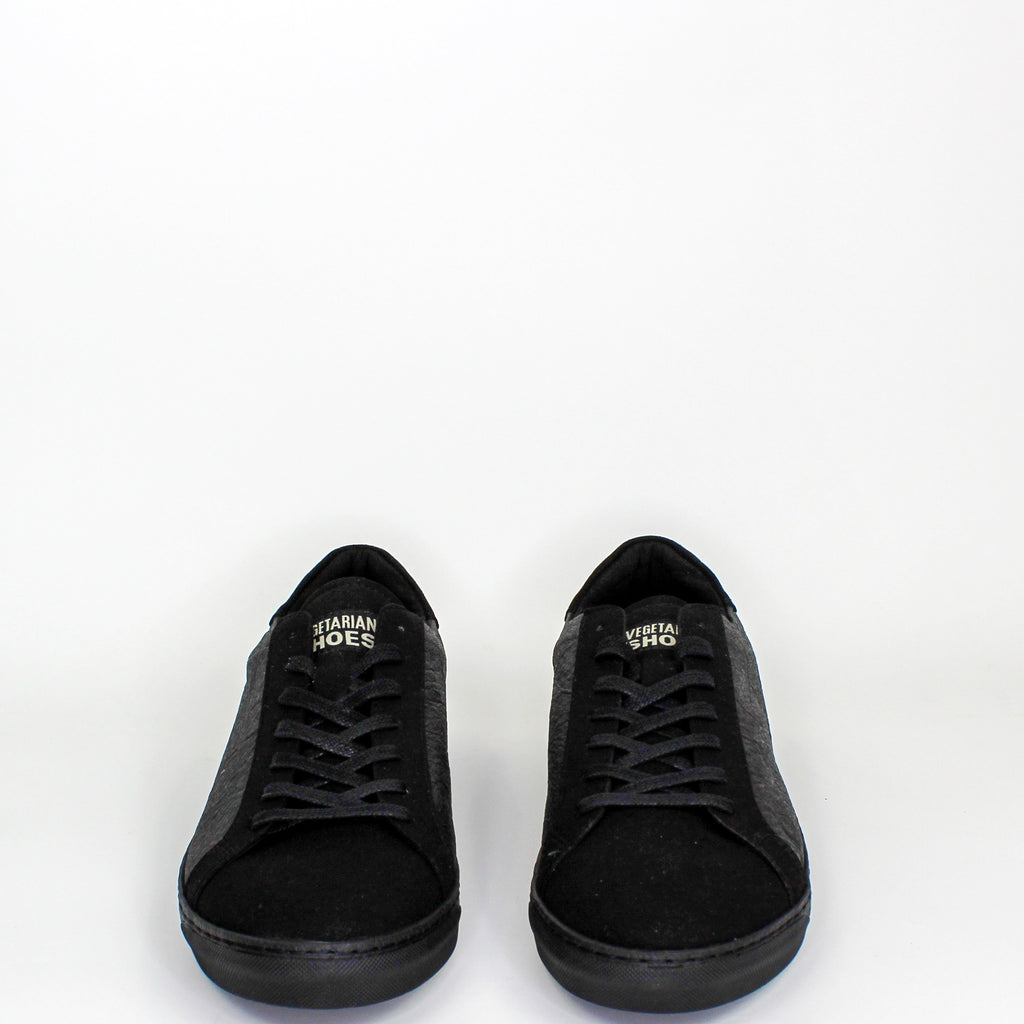 Chevron Pinatex Sneakers Black