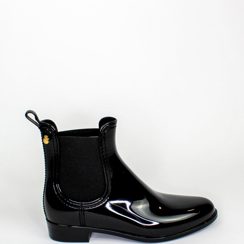 Jelly Comfy Rain Boots Black