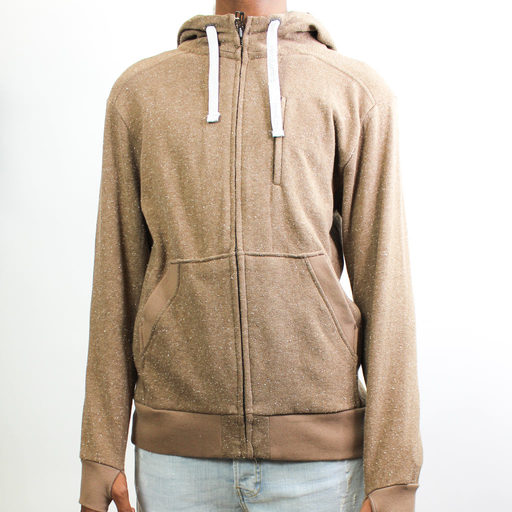 Men's Light Hoodie Tan Fleck