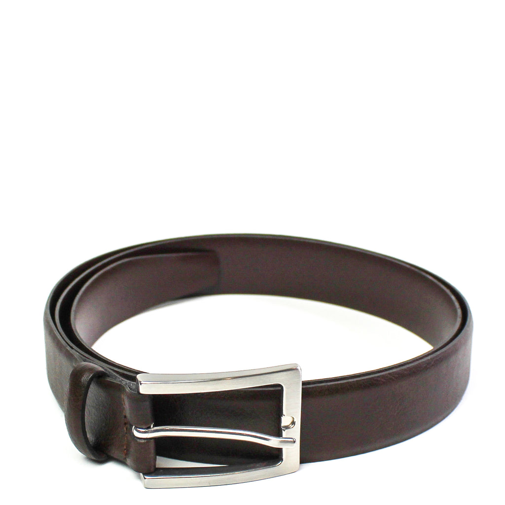 3cm Belt Dark Brown