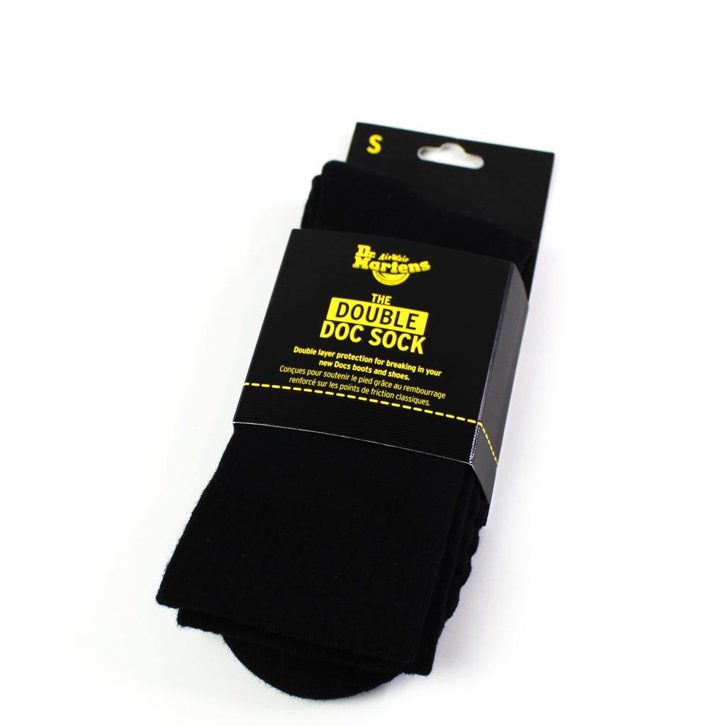 Double Doc Socks Black