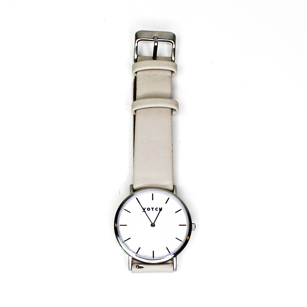 Votch The Light Grey Classic Watch