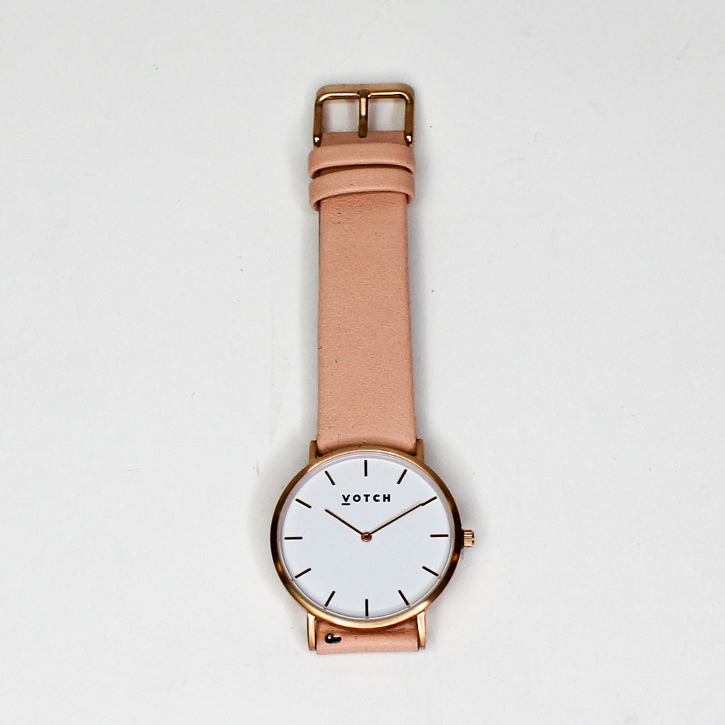 Votch The Pink & Rose Gold Classic Watch
