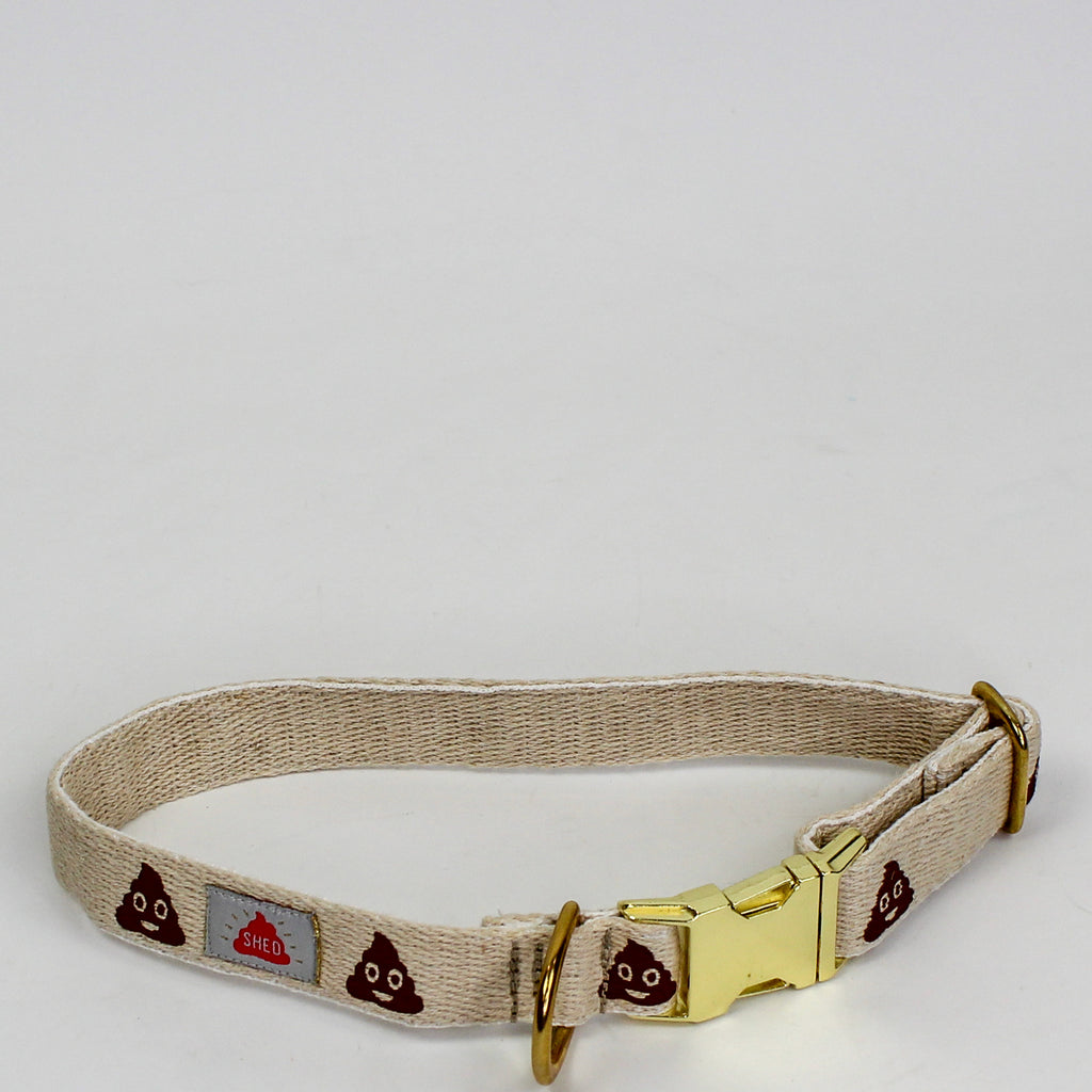 Poop Emoji Dog Collar