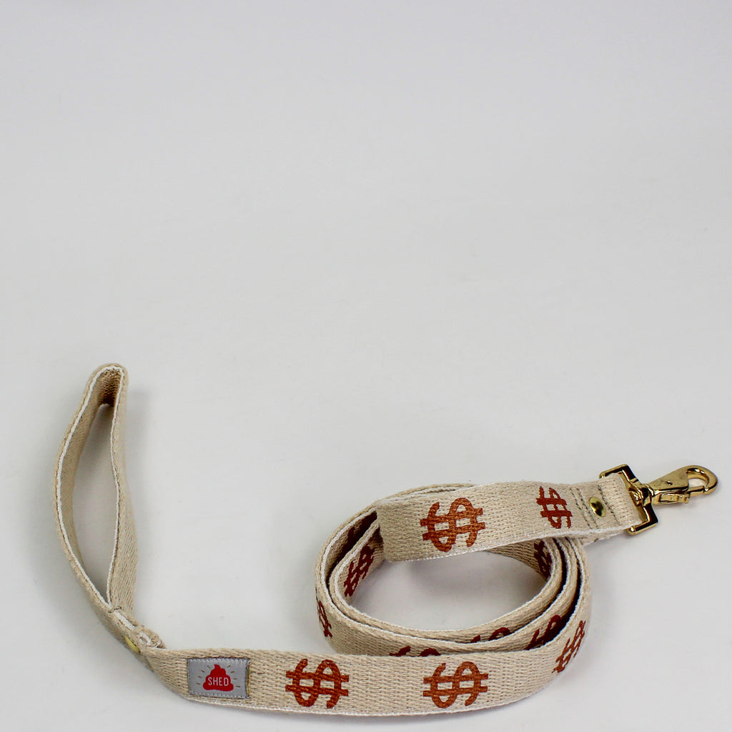 Dollar Hemp Dog Leash
