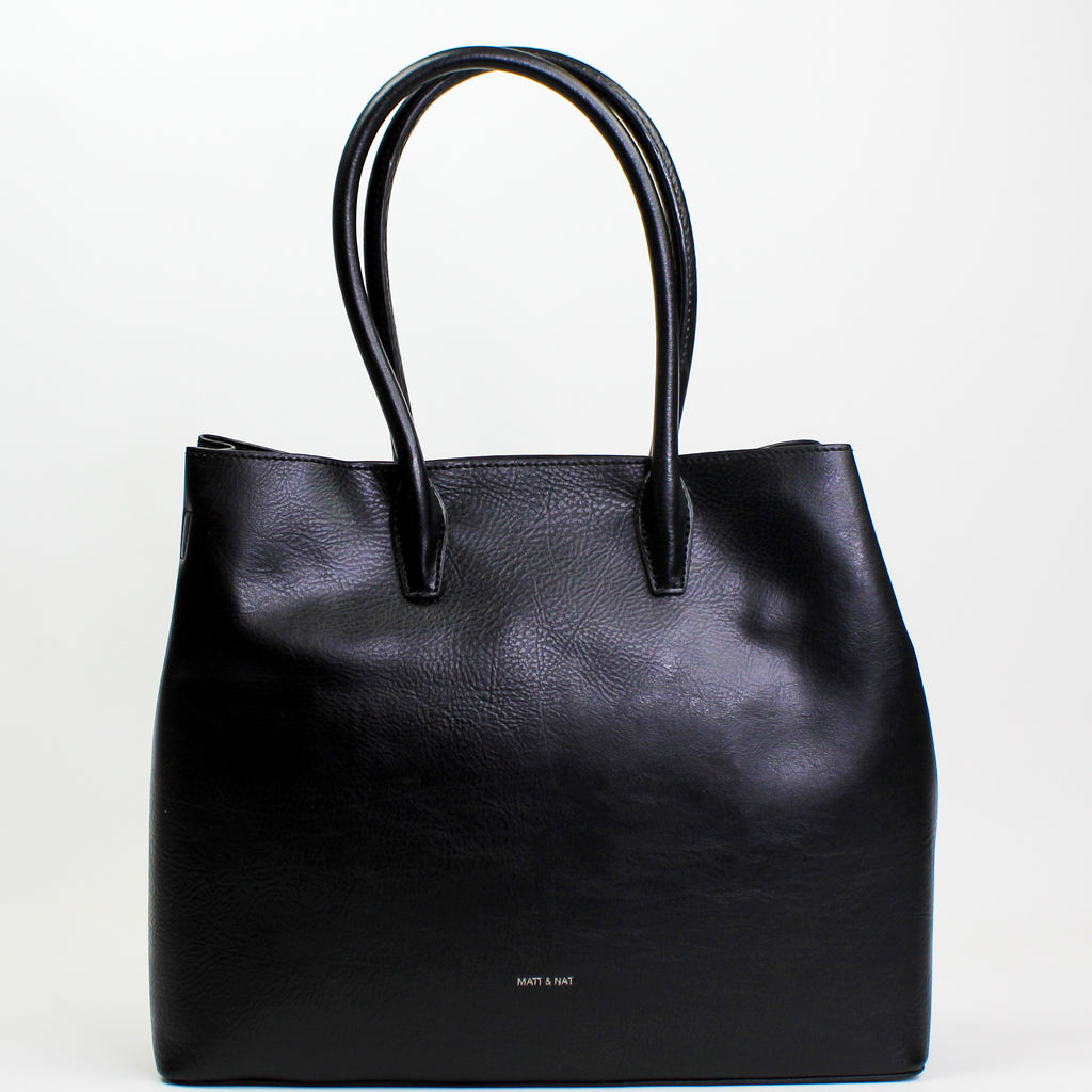 Krista Large Satchel Black