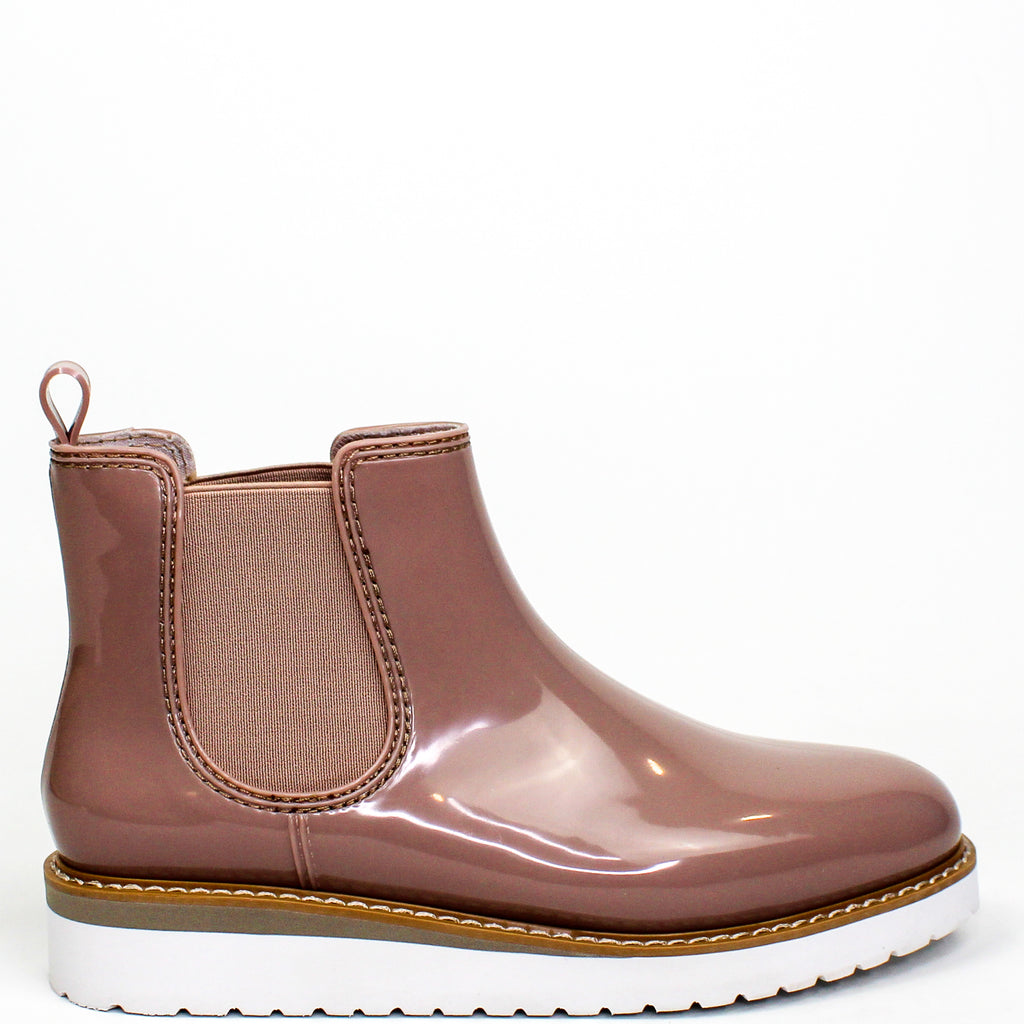 Kensington Chelsea Boots Dusty Rose