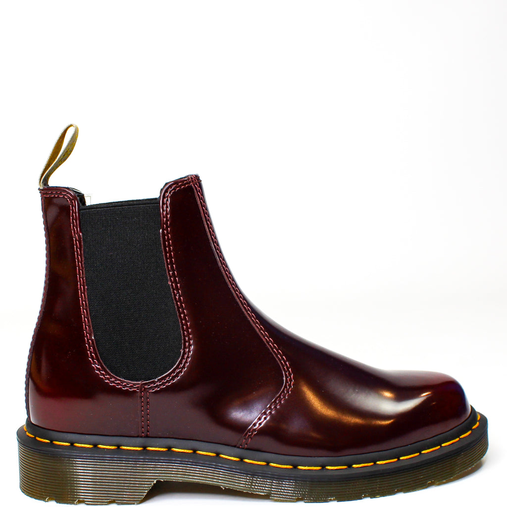 Vegan 2976 Chelsea Boots Cherry Red