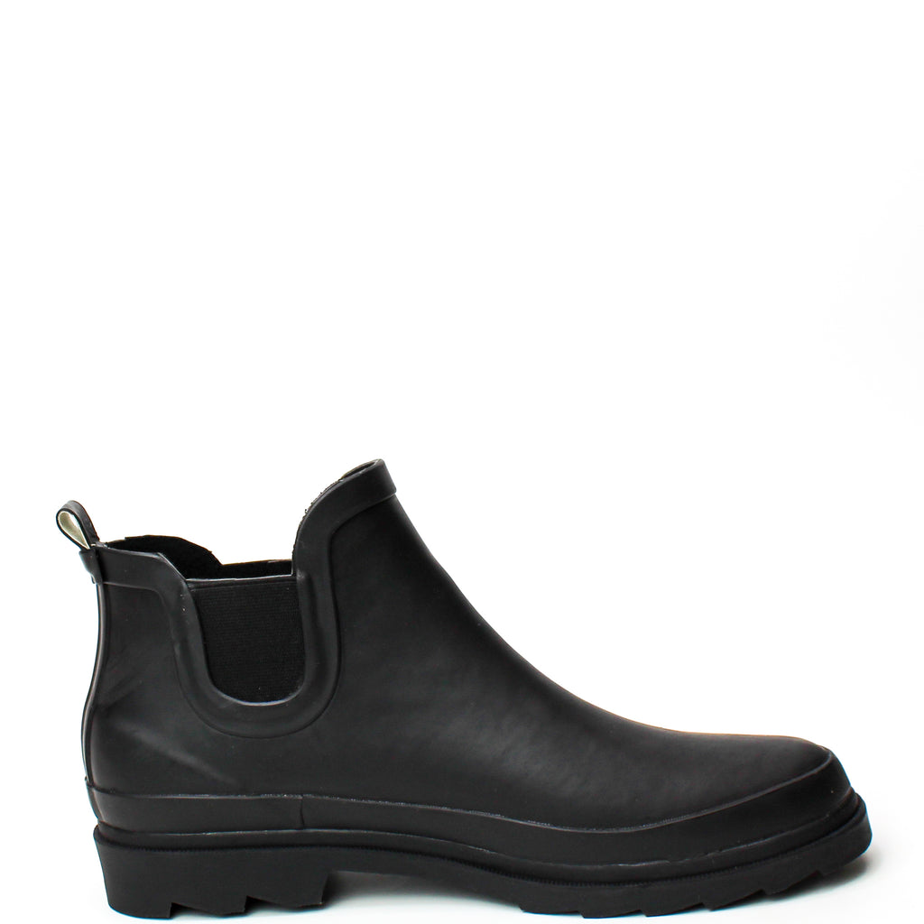 Lane Waterproof Rain Boots Black