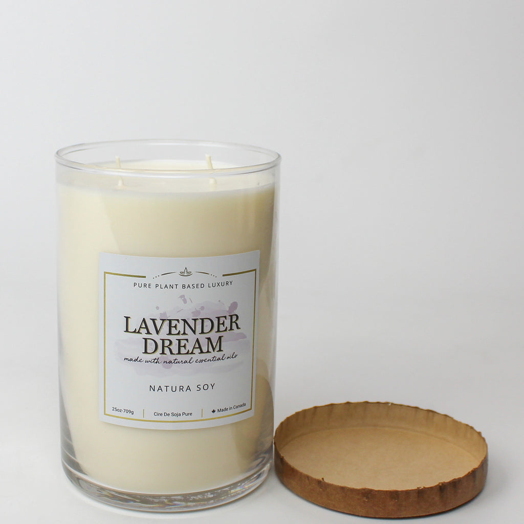Lavender Dream Pillar Jar Candle 25 oz