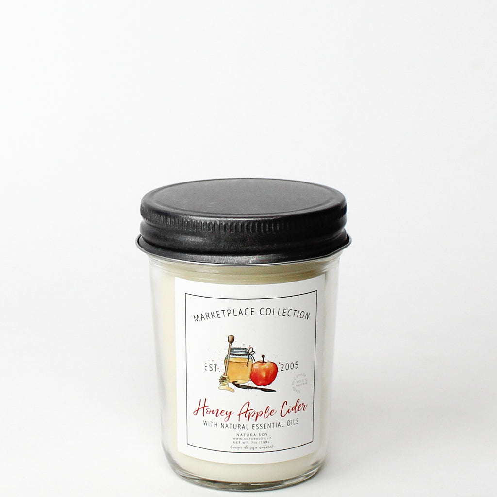 Honey Apple Cider Marketplace Candle 7 oz