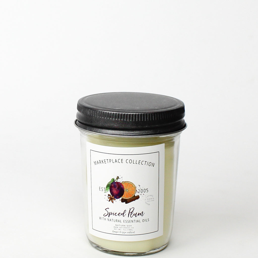 Spiced Plum Marketplace Candle 7 oz