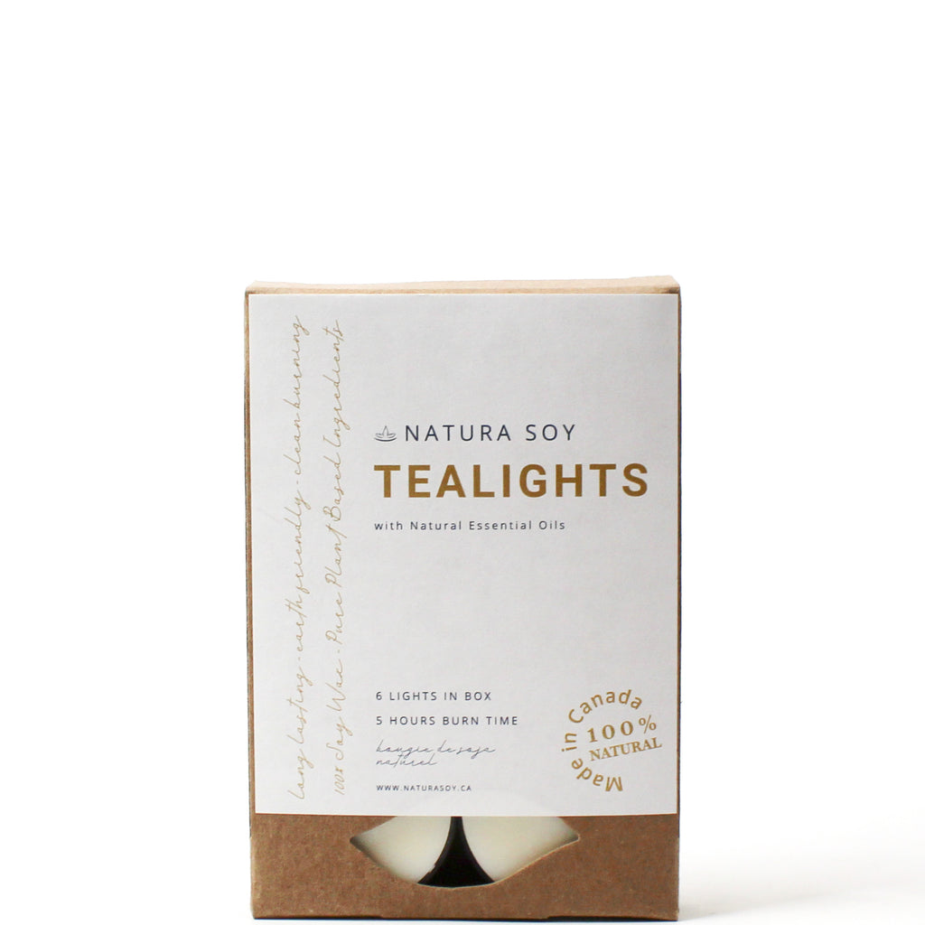 Sage Berry Tealights 6 Pack