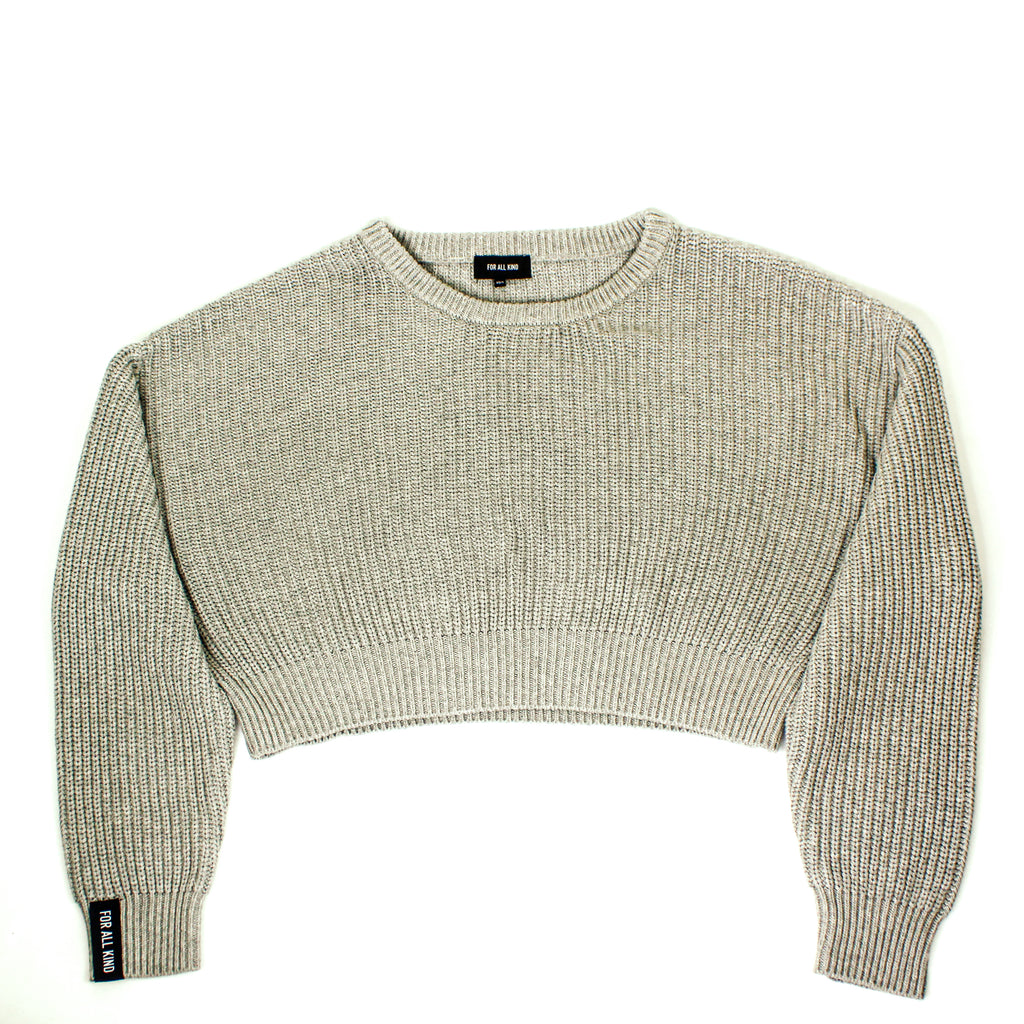 Rib Knit Pullover Sweater