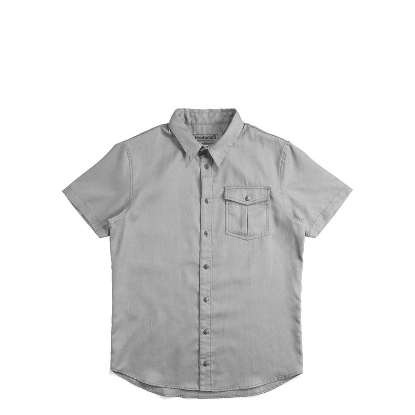 Short Sleeve Shirt Grey