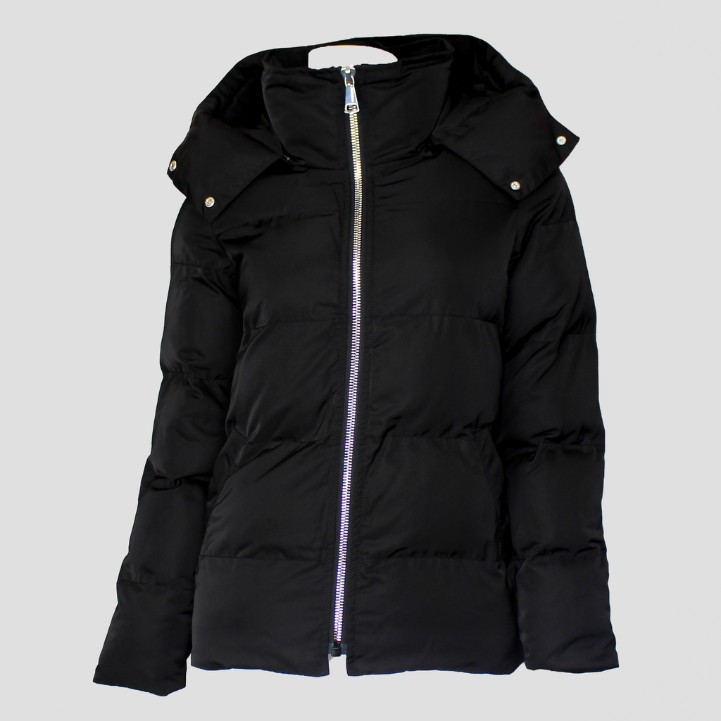 Linz Puffer Coat Black