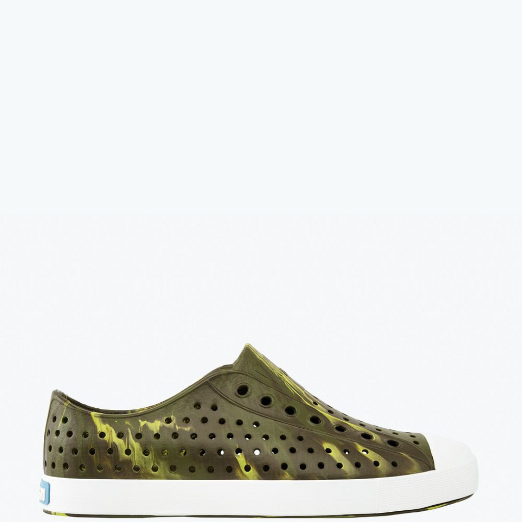 Jefferson Marbled Sneakers Tuff Green / Shell White / Olivine Marble