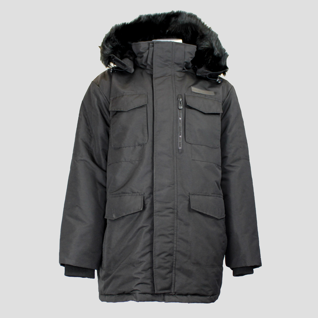 Duke Long Parka Black