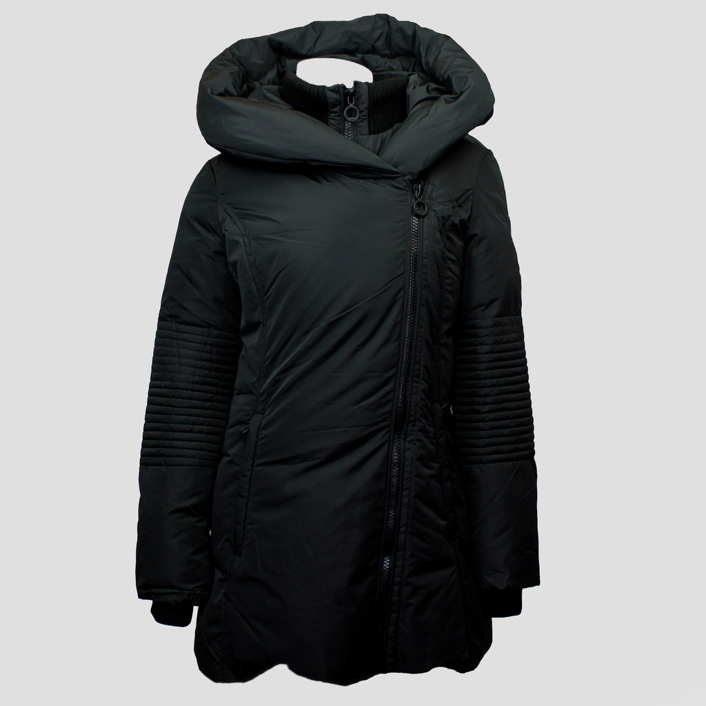 Joyce Mid-Length Jacket Black