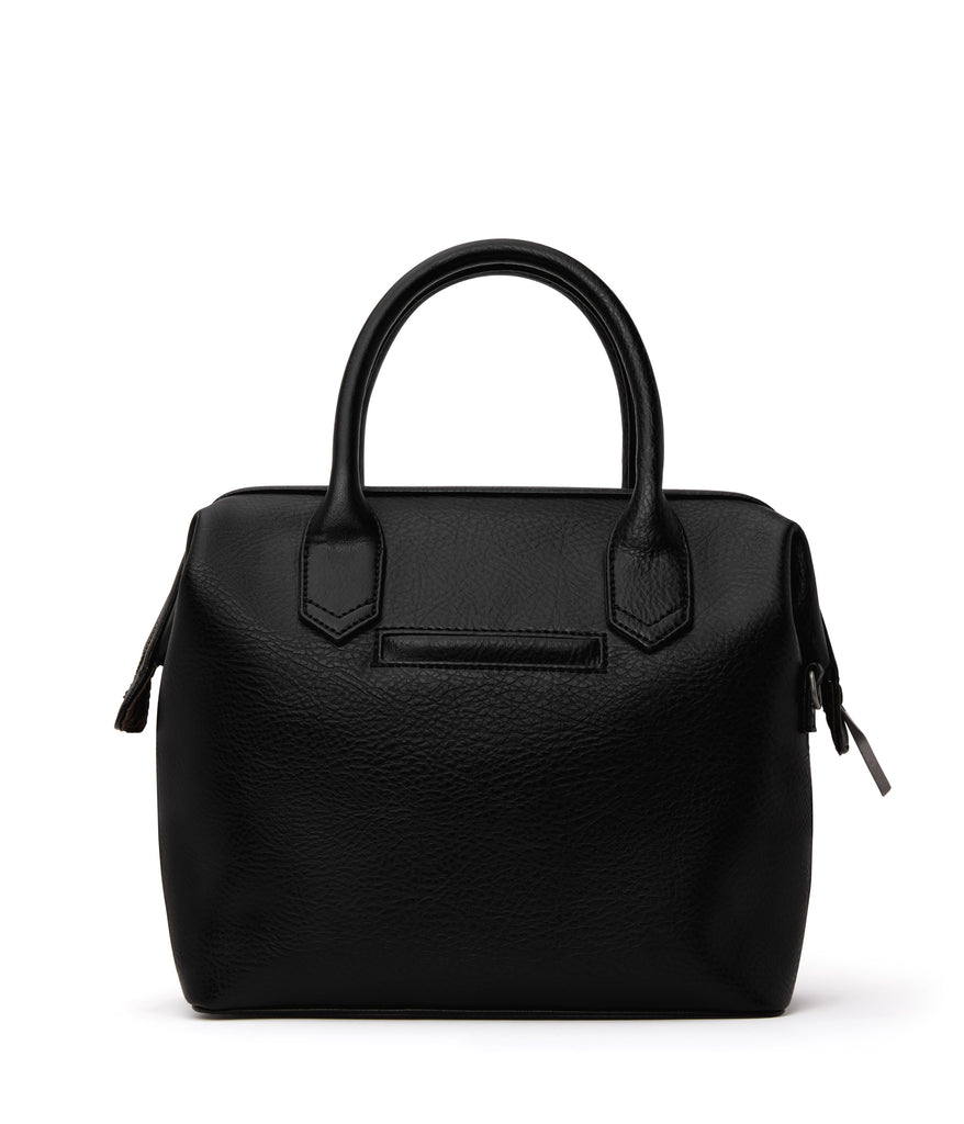 Beige Doctor Bag Satchel Black
