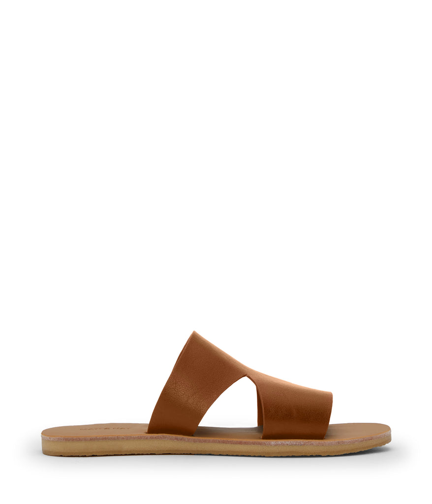 Lily Flat Sandal Chili / Natural