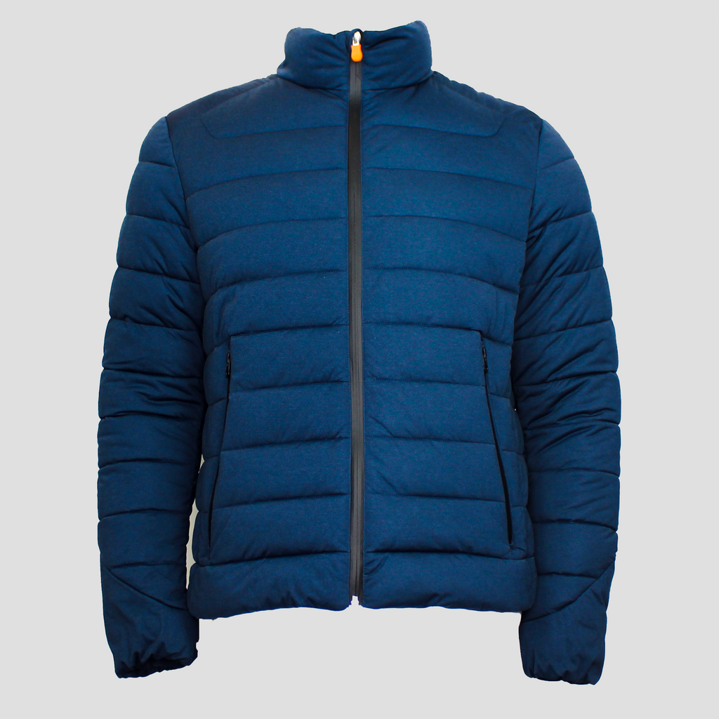 Men's Puffer Stretch Jacket Navy Blue