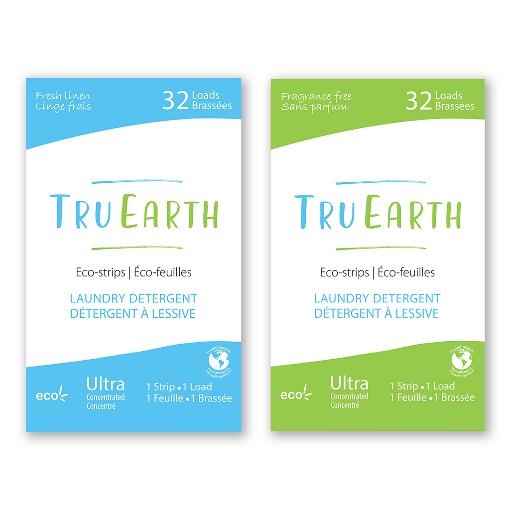 Tru Earth Eco-strips Laundry Detergent 32 Loads