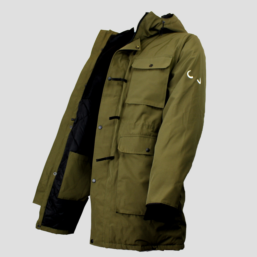 Elk Parka 2018 Forest Green
