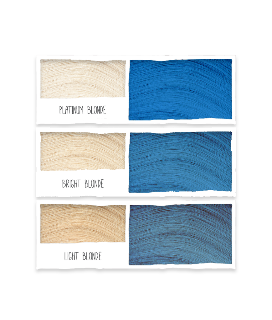 Bold Colours Blue Semi-Permanent Hair Colour