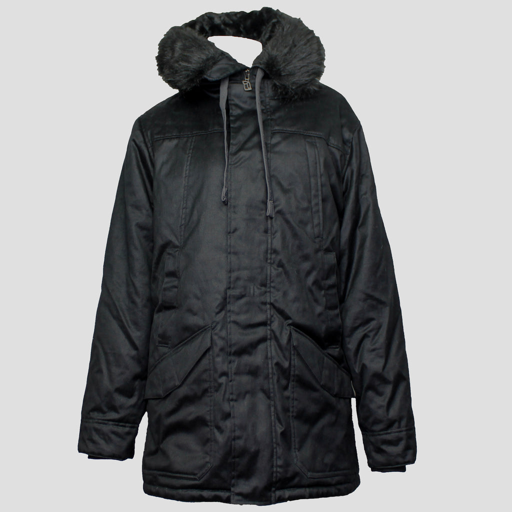 Men's W17 Nightwatch Nordic Parka Black